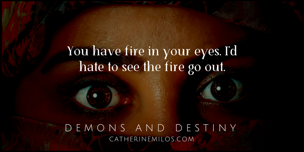 Book Quote: Demons and Destiny